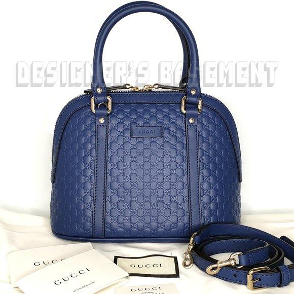 Gucci Handbags - GUCCI Micro Guccissima sml BREE DOME Crossbody Bag